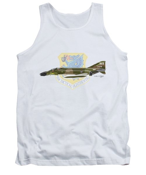 F-4d Phantom II Raf Bentwaters Tank Top