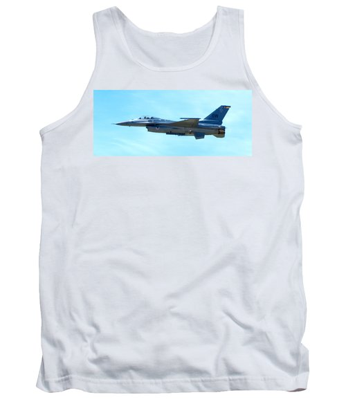 F16 Tank Top by Greg Fortier