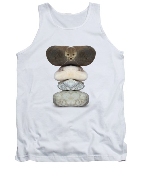 Face Of Alien On The Stone Tank Top