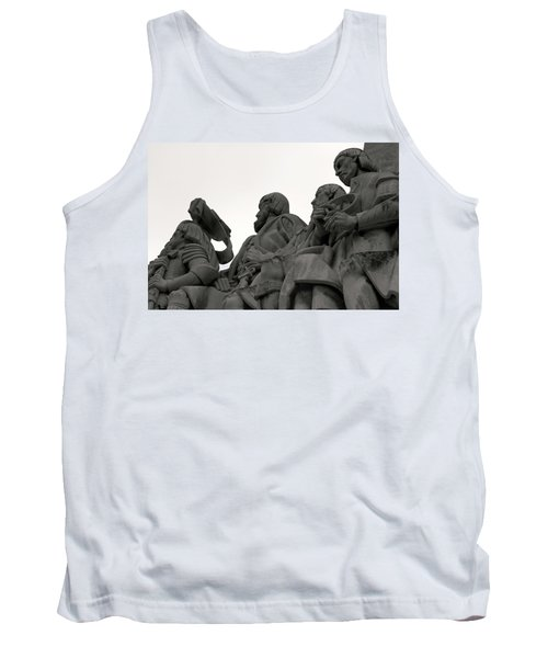 Tank Top featuring the photograph Faces Of The Monument by Lorraine Devon Wilke