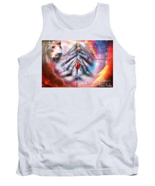 Faith Filled Prayer Tank Top by Dolores Develde