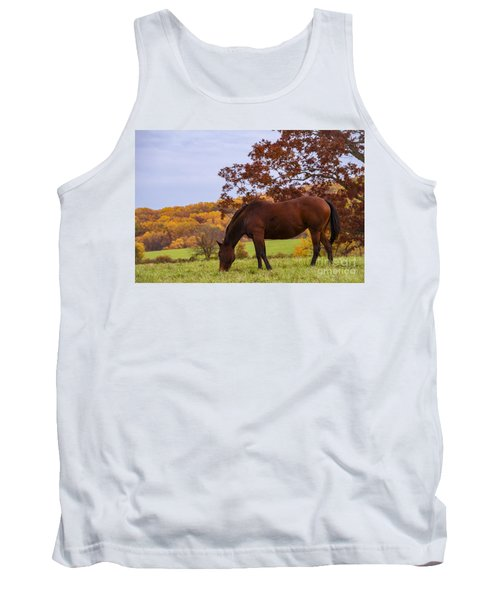 Fall And A Horse Tank Top