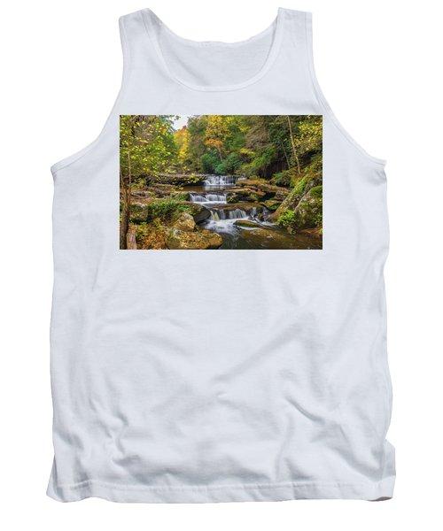 Fall At Bark Camp Creek Tank Top
