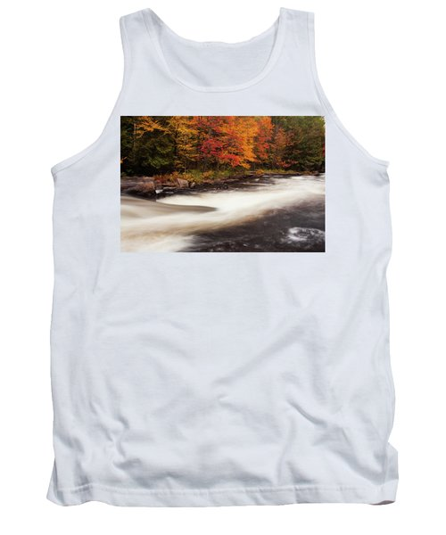 Fall At Oxtongue Rapids Tank Top