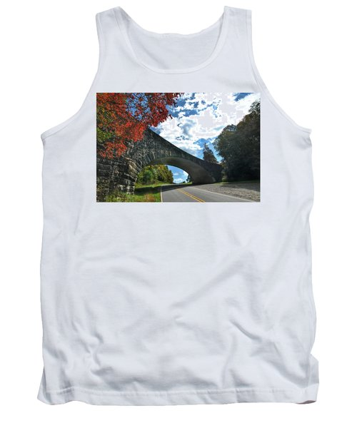 Fall Bridge Tank Top