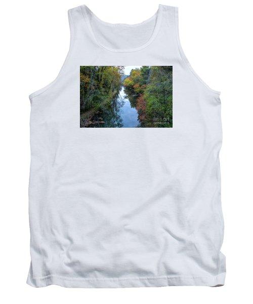 Fall Colors Along The Tallulah River Tank Top