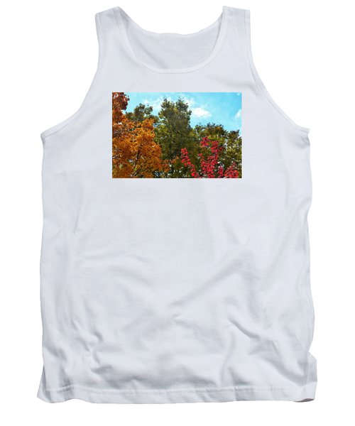 Tank Top featuring the photograph Fall Colors by Nikki McInnes
