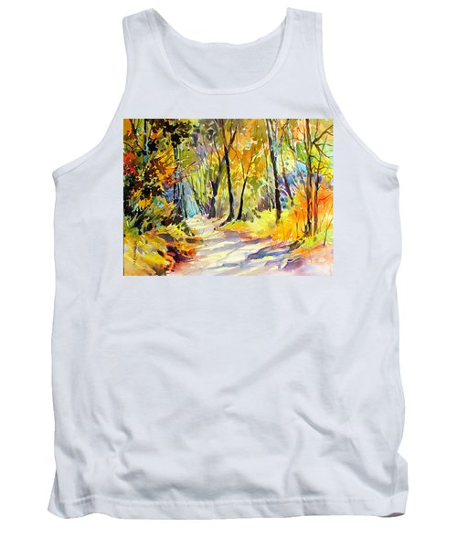 Fall Dazzle, Tennessee Tank Top by Rae Andrews