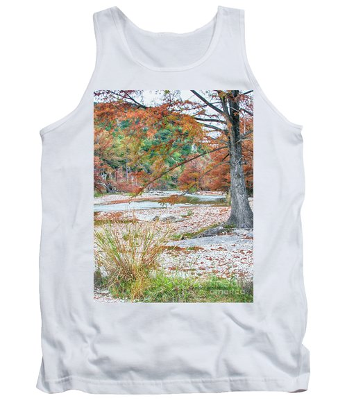 Fall In Texas Hills Tank Top