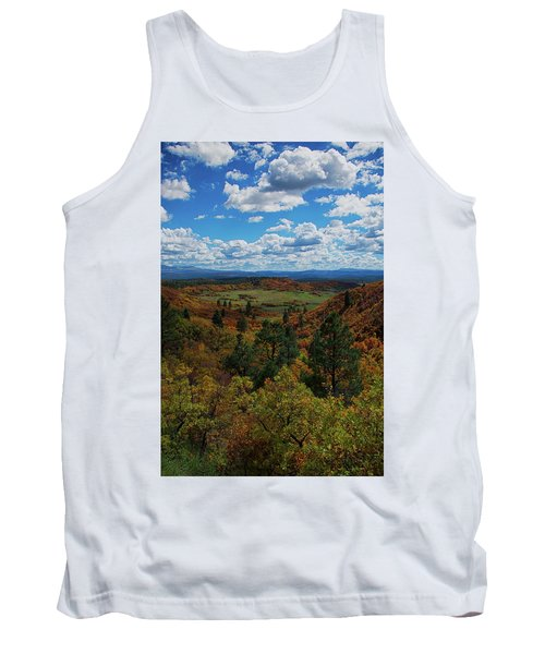 Fall On Four Mile Road Tank Top by Jason Coward