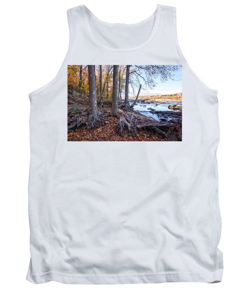 Tank Top featuring the photograph Fall Roots by Alan Raasch