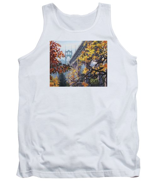 Fall St Johns Tank Top by Karen Ilari