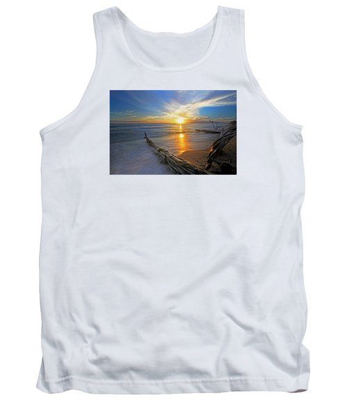 Far Out To Sea Tank Top by James Roemmling