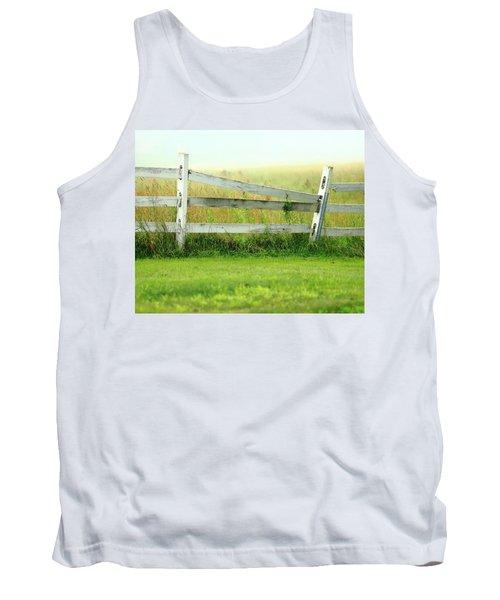 Farm Fence Tank Top