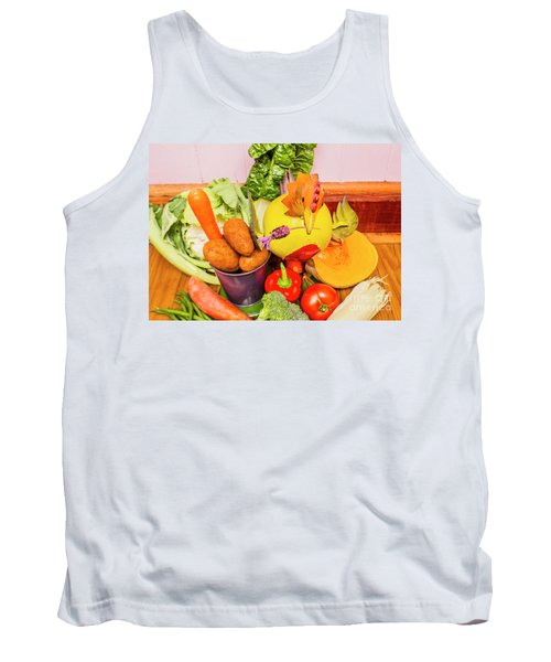 Farm Fresh Produce Tank Top by Jorgo Photography - Wall Art Gallery