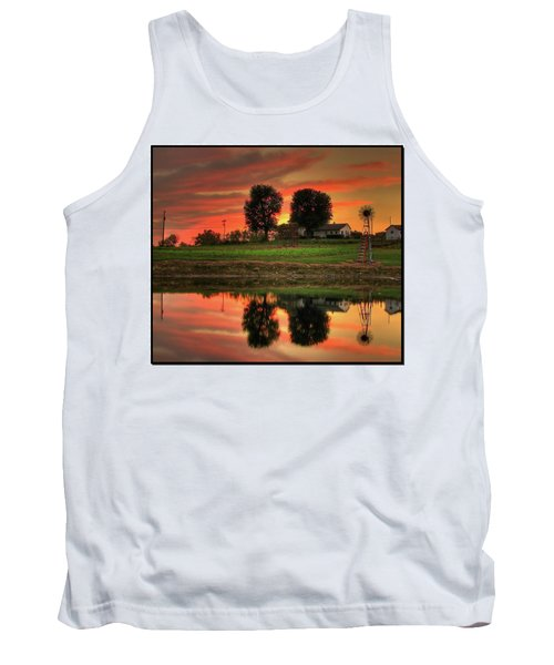 Farm Sunset Tank Top