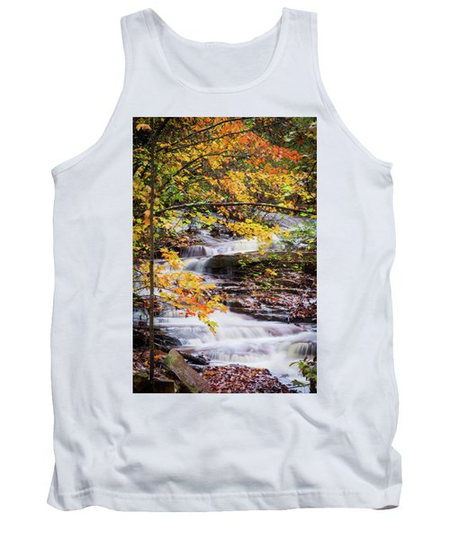 Tank Top featuring the photograph Farmed With Golden Colors by Parker Cunningham