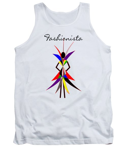 Fashionista Tank Top by Methune Hively