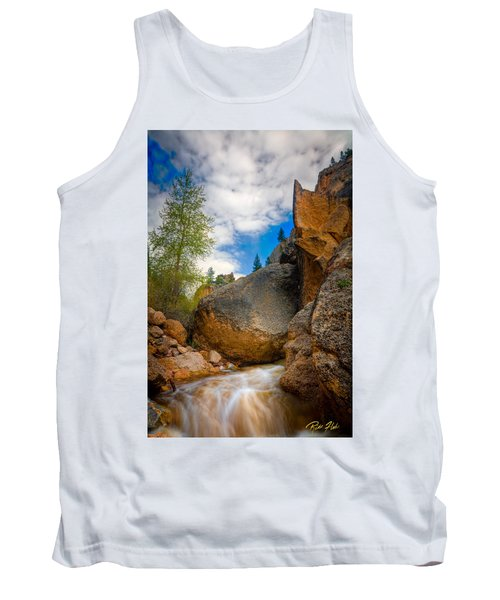 Fast-flowing Crazy Woman Tank Top