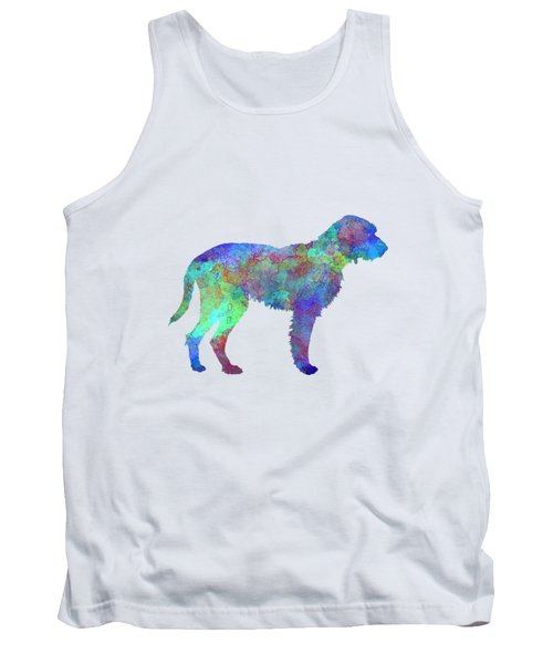 Fawn Brittany Griffon In Watercolor Tank Top