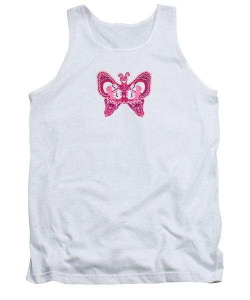 February Butterfly Tank Top