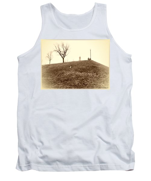 Tank Top featuring the photograph Federal Hill by Brian Wallace