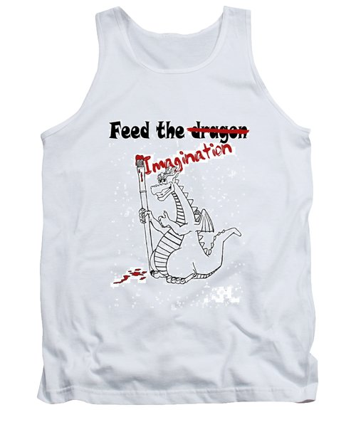 Feed The Imagination Tank Top