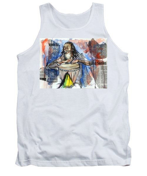 Feel The Rhythm Tank Top