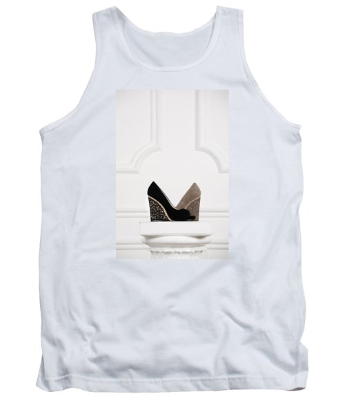 Tank Top featuring the photograph Female Shoes by Andrey  Godyaykin