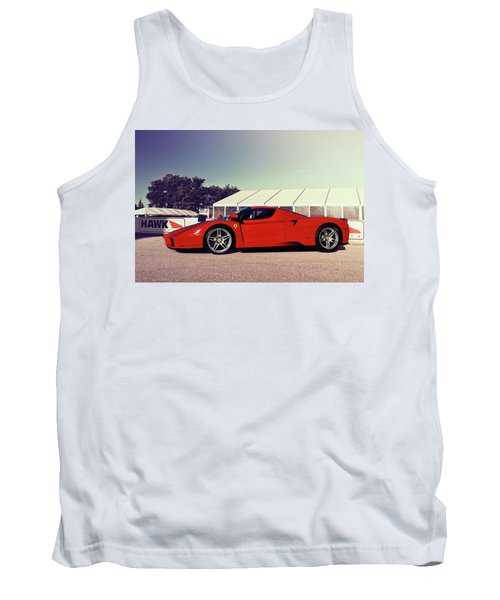 Tank Top featuring the photograph Ferrari Enzo by Joel Witmeyer