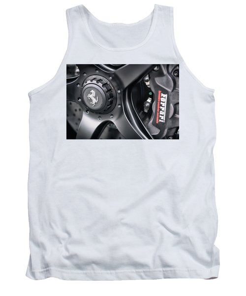 Tank Top featuring the photograph #ferrari #print by ItzKirb Photography