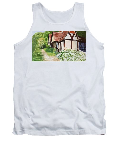 Ferry Cottage Tank Top by Joanne Perkins
