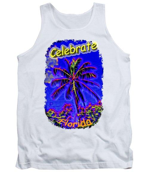 Festive Palm Tank Top