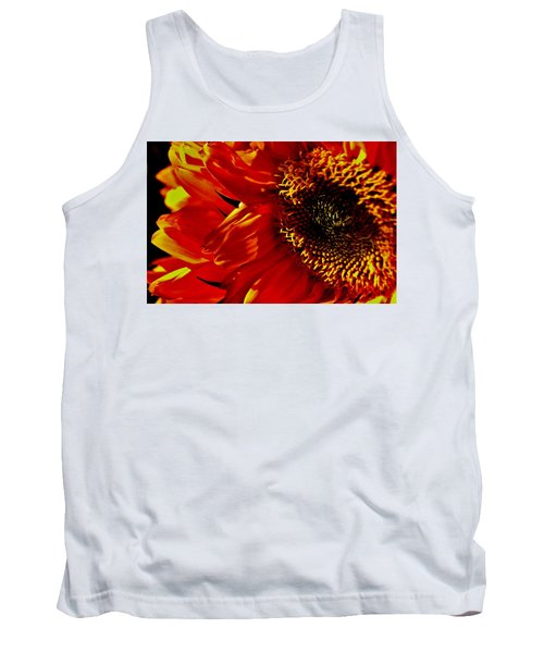Fickle Sunflower Tank Top