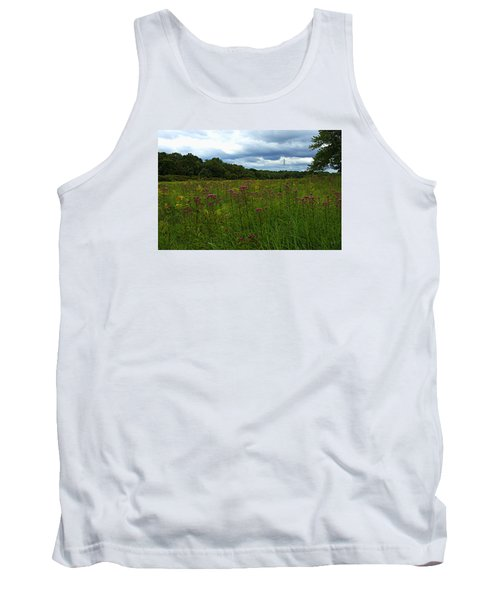 Field Of Color Tank Top by Bruce Carpenter