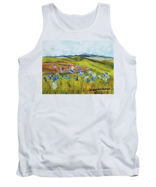Field With Flowers Tank Top