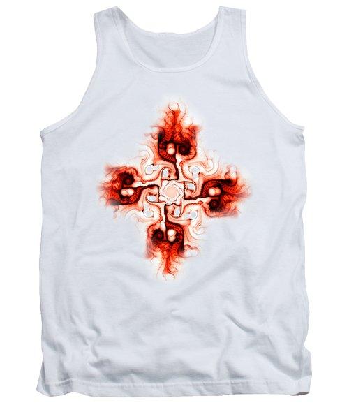 Fiery Cross Tank Top