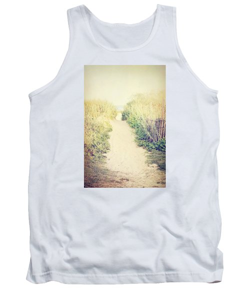 Tank Top featuring the photograph Finding Your Way by Trish Mistric