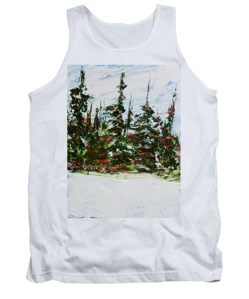 Fir Trees - Spring Thaw Tank Top