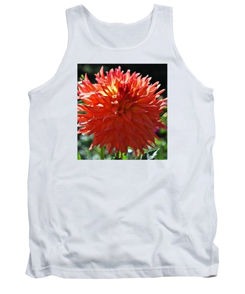 Fire It Up Dahlia  Tank Top
