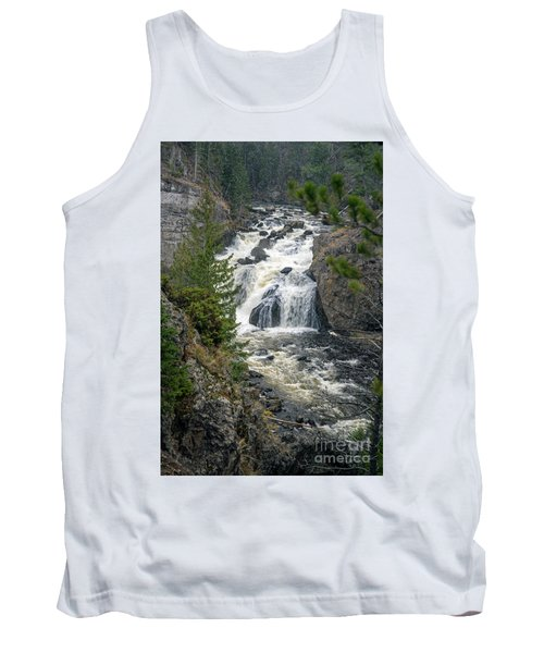 Firehole Falls Tank Top by Cindy Murphy - NightVisions