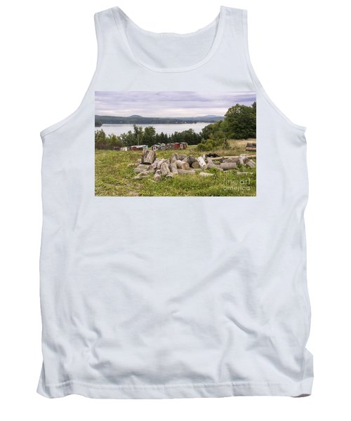 Firewood And Ice Houses Tank Top