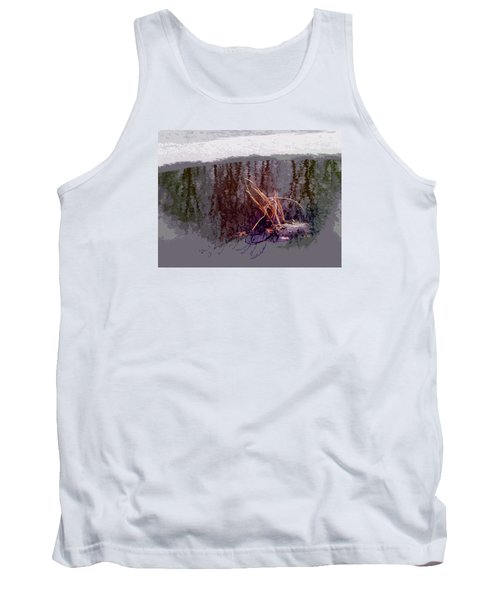 Tank Top featuring the photograph First Freeze by Spyder Webb