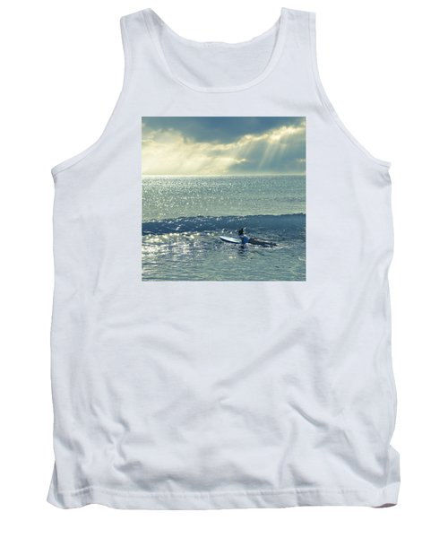 First Of The Day Tank Top