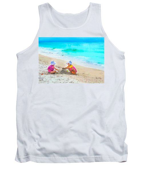 First Sand Castle Tank Top