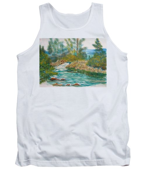 First Watercolour Tank Top
