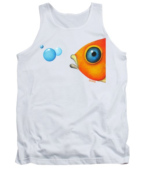 Fish Bubbles Tank Top