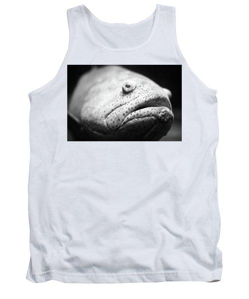 Fish Face Tank Top