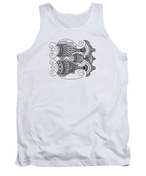 Fish Family Tank Top