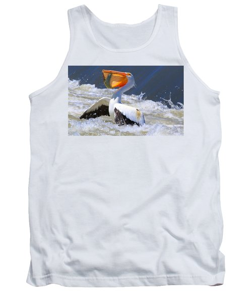 Fish For Dinner Tank Top